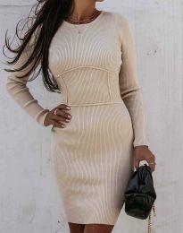 Фустан - код 0891 - кремова