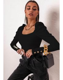 Блуза - код 11517 - црна