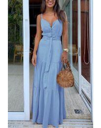 Фустан - код 050 - светло сина