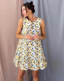 Фустан - код 6468 - шарена