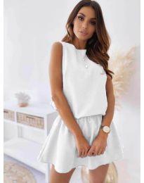 Фустан - код 477 - бело