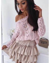Блуза - код 307 - розова