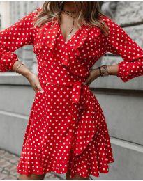 Фустан - код 0438 - црвена