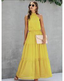 Фустан - код 8855 - жолта