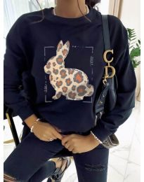 Блуза - код 4001 - црна