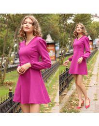 Фустан - код 1478 - 2 - виолетова