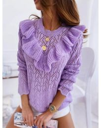 Блуза - код 790 - виолетова