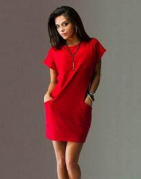 Фустан - код 1585 - 2 - црвена