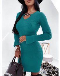 Фустан - код 5666 - тиркизна