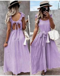 Фустан - код 4806 - виолетова
