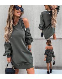Фустан - код 296 - путер зелена