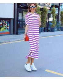 Фустан - код 9910 - виолетова