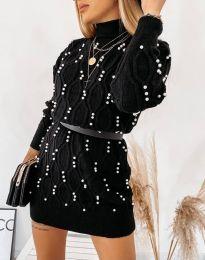 Фустан - код 3904 - црна