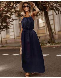 Фустан - код 3323 - темно сина