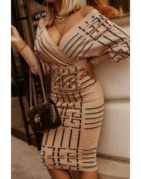 Фустан - код 4441 -3 - шарена