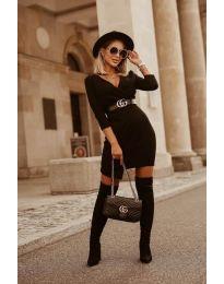 Фустан - код 9977 - црна