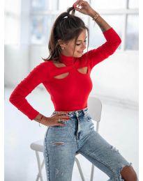 Блуза - код 1412 - црвена