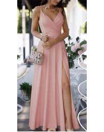 Фустан - код 8489 - розова