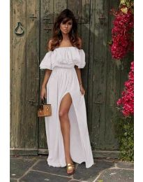 Фустан - код 3336 - бело