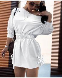 Фустан - код 7470 - бело