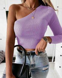 Блуза - код 0893 - виолетова