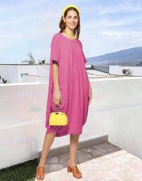 Фустан - код 5554 - розова