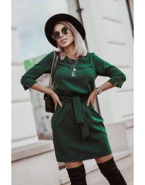 Фустан - код 6100 - зелена