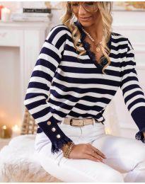 Блуза - код 15811 - 1 - црна