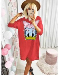 Фустан - код 0706 - црвена
