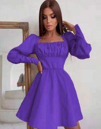 Фустан - код 8150 - виолетова