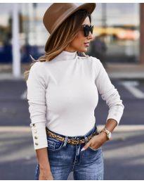 Блуза - код 5259 - бело