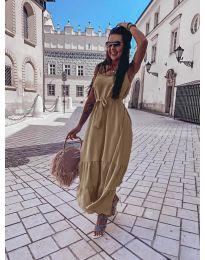Фустан - код 1230 - кремова