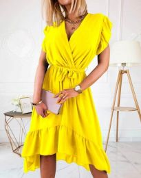 Фустан - код 8934 - 2 - жолта
