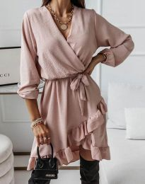 Фустан - код 5371 - пудра
