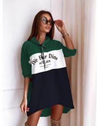 Фустан - код 9090-9 - шарено