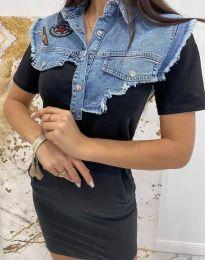Фустан - код 2473 - 2 - црна