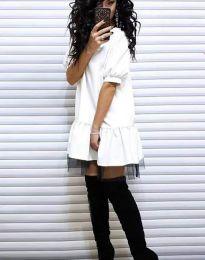 Фустан - код 2856 - бело