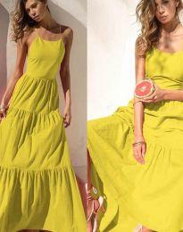 Фустан - код 2991 - жолта