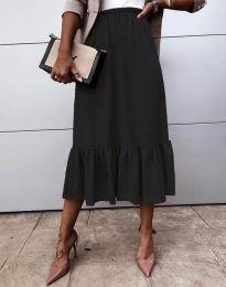 Сукња - код 3463 - црна