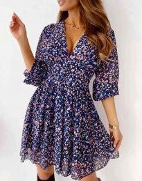 Фустан - код 8434 - шарена