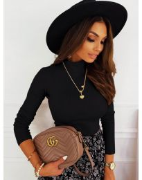 Блуза - код 7071 - црна