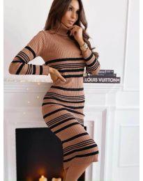 Фустан - код 5980 - 4 - шарено