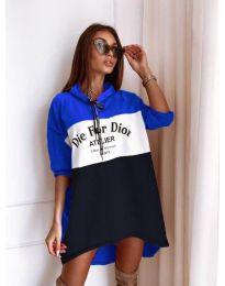 Фустан - код 9090-8 - шарено