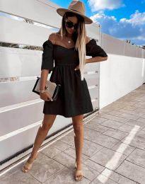 Фустан - код 7413 - црна