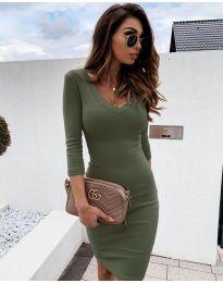 Фустан - код 4040 - путер зелена