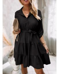 Фустан - код 6970 - црна