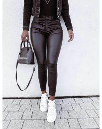 Панталони - код 9962 - 1 - црна