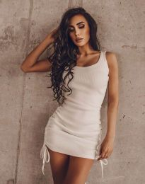 Фустан - код 12644 - бело