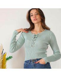 Блуза - код 6365 - ментол