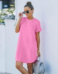 Фустан - код 38444 - розова